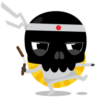 Skullington Facebook sticker #13