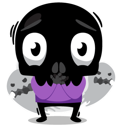Skullington Facebook sticker #17