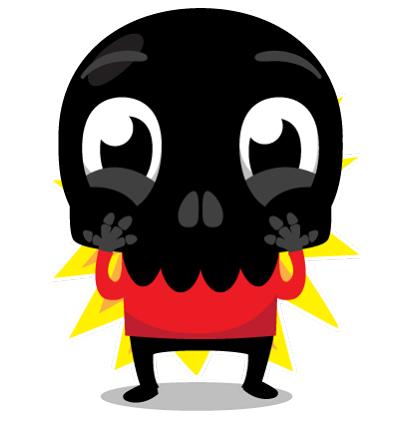 Skullington Facebook sticker #18