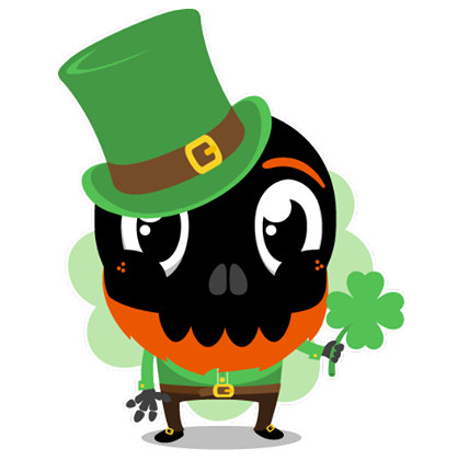 Skullington Facebook sticker #19