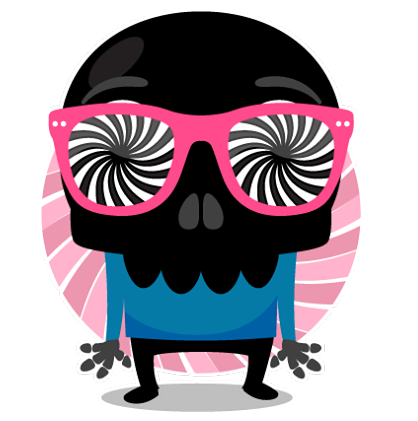 Skullington Facebook sticker #21