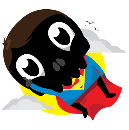 Skullington Facebook sticker #22