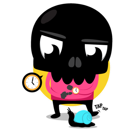Skullington Facebook sticker #24