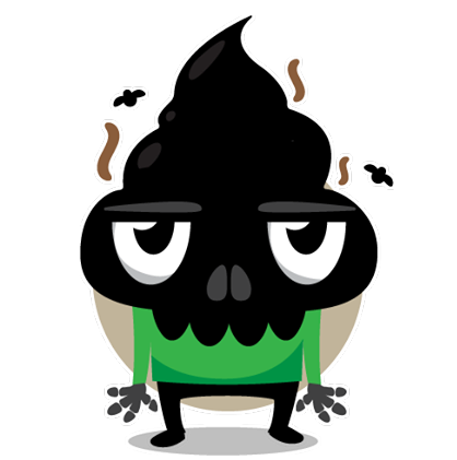 Skullington Facebook sticker #32
