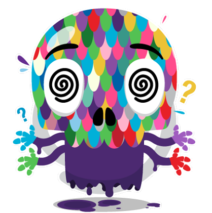 Skullington Facebook sticker #34