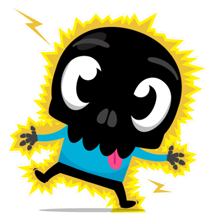Skullington Facebook sticker #35