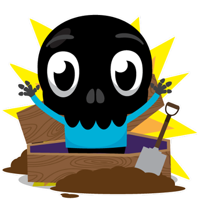 Skullington Facebook sticker #38