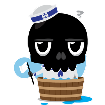 Skullington Facebook sticker #39
