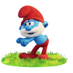 Facebook Smurfs Lost Village stickers
