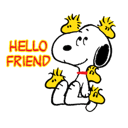 Stickers de Facebook Snoopy et compagnie