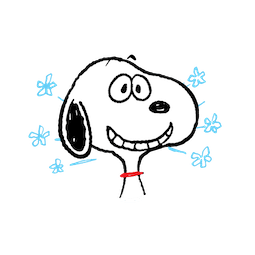 Snoopy et compagnie Facebook sticker #2