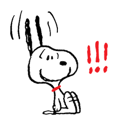 Facebook sticker Snoopy and Friends 5
