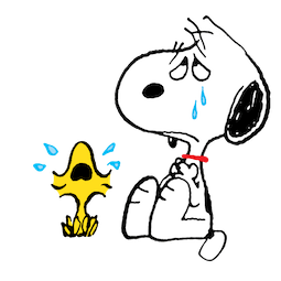 Snoopy et compagnie Facebook sticker #7
