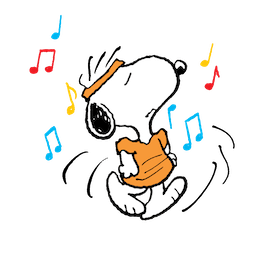 Snoopy et compagnie Facebook sticker #12