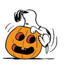 Snoopy`s Harvest Facebook sticker #5