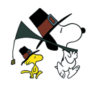 Snoopy`s Harvest Facebook sticker #7