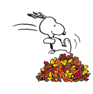 Snoopy`s Harvest Facebook sticker #8