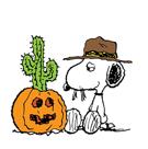 Snoopy`s Harvest Facebook sticker #10