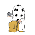 Snoopy`s Harvest Facebook sticker #14