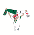 Soccer Scarves (A-F) Facebook sticker #2