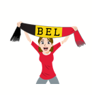 Soccer Scarves (A-F) Facebook sticker #7