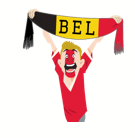 Soccer Scarves (A-F) Facebook sticker #8