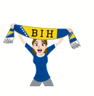 Soccer Scarves (A-F) Facebook sticker #9