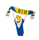 Soccer Scarves (A-F) Facebook sticker #10
