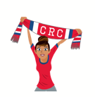 Soccer Scarves (A-F) Facebook sticker #21