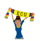 Soccer Scarves (A-F) Facebook sticker #25