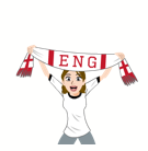 Soccer Scarves (A-F) Facebook sticker #27