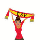 Soccer Scarves (A-F) Facebook sticker #29