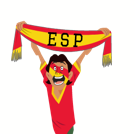 Soccer Scarves (A-F) Facebook sticker #30