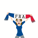 Soccer Scarves (A-F) Facebook sticker #31