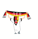 Facebook Soccer Scarves (G-U) stickers