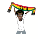 Soccer Scarves (G-U) Facebook sticker #4