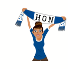 Soccer Scarves (G-U) Facebook sticker #8