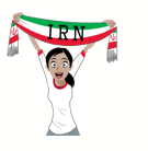 Soccer Scarves (G-U) Facebook sticker #9