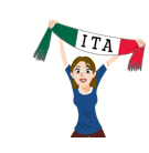 Soccer Scarves (G-U) Facebook sticker #12