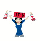 Soccer Scarves (G-U) Facebook sticker #14