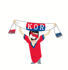 Soccer Scarves (G-U) Facebook sticker #15