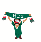 Soccer Scarves (G-U) Facebook sticker #17