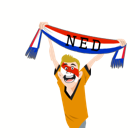 Soccer Scarves (G-U) Facebook sticker #19