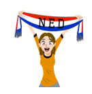 Soccer Scarves (G-U) Facebook sticker #20