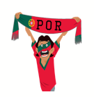 Soccer Scarves (G-U) Facebook sticker #23