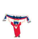 Soccer Scarves (G-U) Facebook sticker #25
