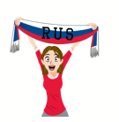 Soccer Scarves (G-U) Facebook sticker #26