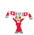 Soccer Scarves (G-U) Facebook sticker #28