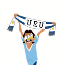 Soccer Scarves (G-U) Facebook sticker #29