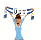 Soccer Scarves (G-U) Facebook sticker #30